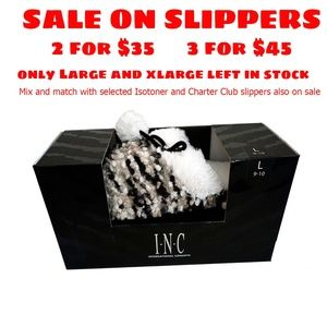 Inc International Concepts Popcorn  Slippers Xlge